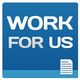 Work for Us icon