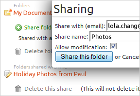 Ubuntu One screenshot