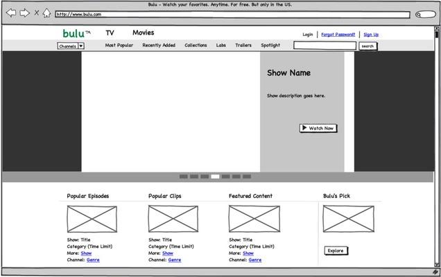 Balsamiq Mockups screenshot