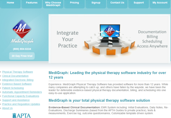 MediGraph screenshot